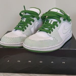Air Jordan 1Phat Low white/chlorophyll size 8
